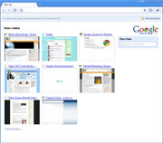 Google Chrome Preview