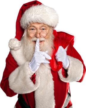 Santa gave Kasi and Amanda the day off