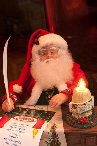 Santa is preparing his list