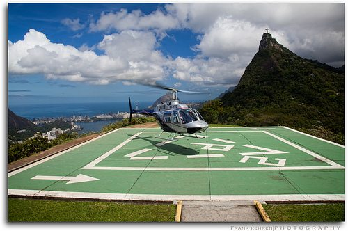 helicopter landing pad