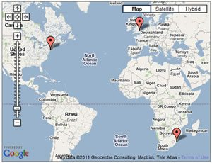 Targeting Multiple Locations for Search – Microformats
