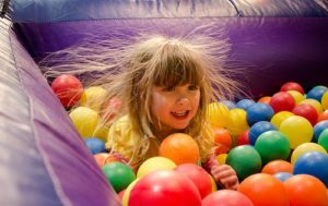 Girl Static Electricity