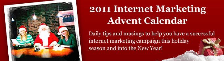 2011 Internet Marketing Advent Calendar