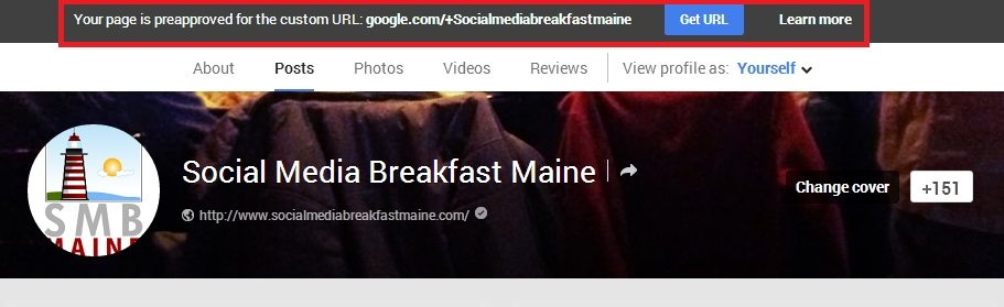 How to Claim a Custom URL for Your Google Plus Page