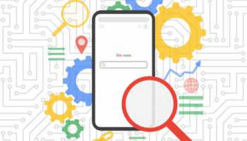 Google Search on mobile graphic