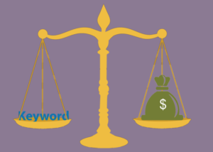How to calculate keyword value
