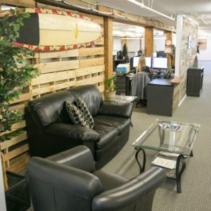 Hall Internet Marketing Front Seating Area