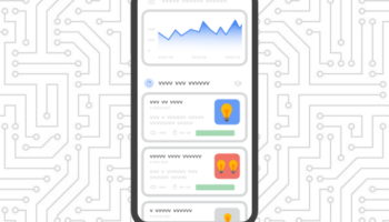 Search Console Insights on mobile graphic