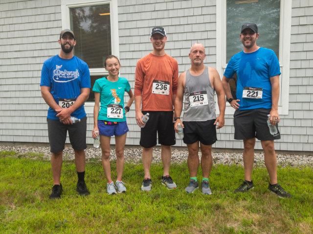 Hall Employees at the South Portland Food Cupboard 5K