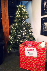 Toys for Tots Donation Box