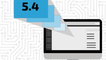 WordPress 5.4 graphic