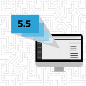 WordPress 5.5 graphic