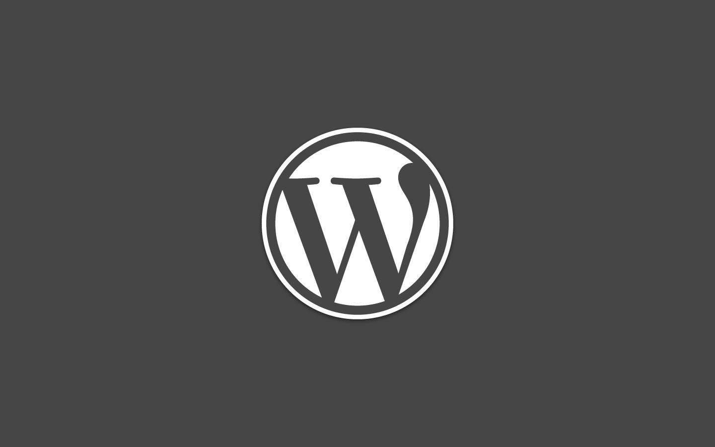 WordPress Dark