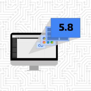 WordPress 5.8 graphic